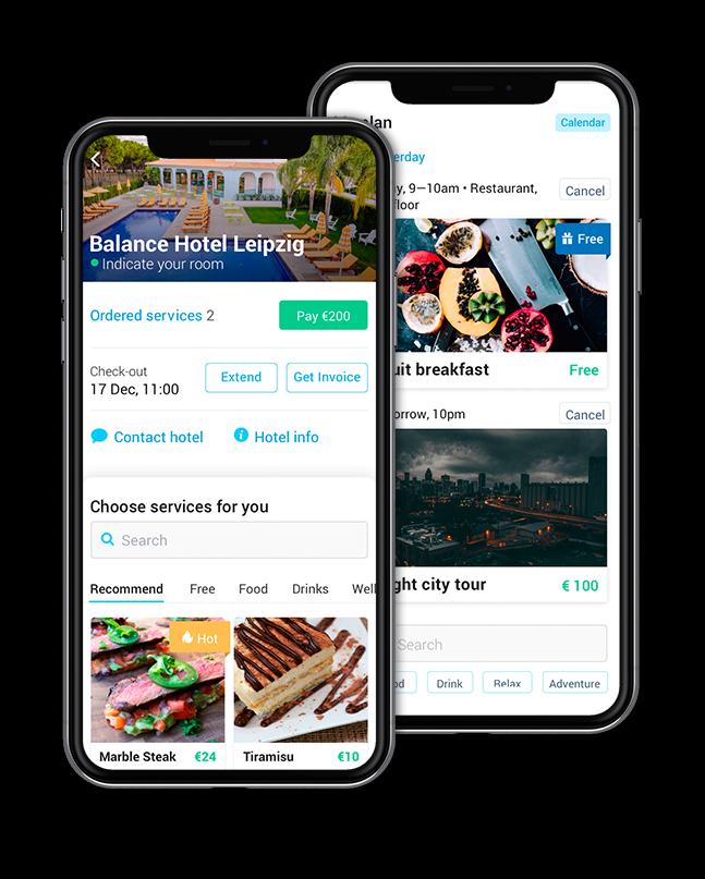 hotel moblie app